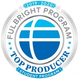 Fulbright program award logo
