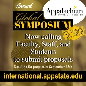 Call for Proposals for 2020 Global Symposium