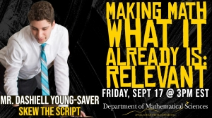 Making Math Relevant with Dashiell Young-Saver graphic