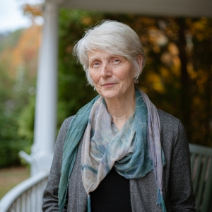 Dr. Kathryn Kirkpatrick, Department of English, has received the North Carolina Literary and Historical Association Roanoke-Chowan Award for Poetry. Photo by Jesse Barber.
