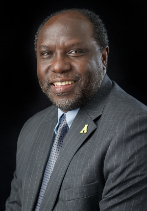 Appalachian State University's Dr. Jesse Lutabingwa, associate vice chancellor of international education and development; director of international research and development; and professor of public administration. Photo by Marie Freeman