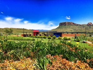 The University of the Free State's Qwaqwa Campus, located at the base of South Africa's Maloti-Drakensberg Mountains. Appalachian State University and the UFS Qwaqwa Campus are partnering on a two-year mountain-to-mountain project funded through the U.S. Embassy and Consulates in South Africa. The project will engage faculty, staff and graduate students at both institutions in teaching, research, mentorship, scholarship and more. Photo by Evert Kleynhans
