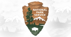 Logo for the National Park Service.