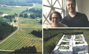 Dr. Carla Norwood and Dr. Gabriel Cumming, – co-founders and directors of Working Landscapes, a grassroots nonprofit organization based in Carla's homeplace of Warren County, N.C. Photos Submitted.