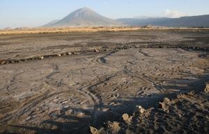 The Engare Sero footprint site in Northern Tanzania, Africa. Photo by Cynthia Liutkus-Pierce