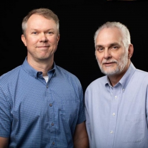 Dr. Judkin Browning and Dr. Timothy Silver. Photo Submitted University Communications