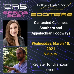 CAS Zoomers Continue Spring 2021 - Session 2 of 3 with Dr. Jessica Martell  and Dr. Zackary Vernon.
