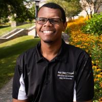 Brandon Moore, B.S., English, secondary education '20